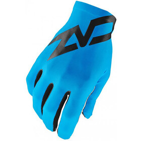 Supacaz SupaG Twisted Long Finger Gloves neon blue/black